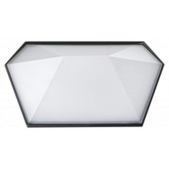 RABALUX 8114 | Salvador_RA Rabalux fali lámpa 1x LED 543lm 4000K IP65 UV fekete, fehér