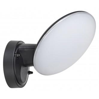 RABALUX 8134 | Varna Rabalux falikar lámpa 1x LED 720lm 4000K IP54 UV fekete, fehér