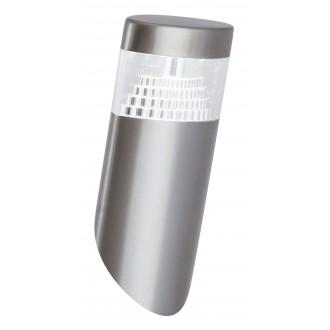 RABALUX 8141 | Detroit Rabalux fali lámpa 1x LED 450lm 4000K IP44 UV nemesacél, rozsdamentes acél