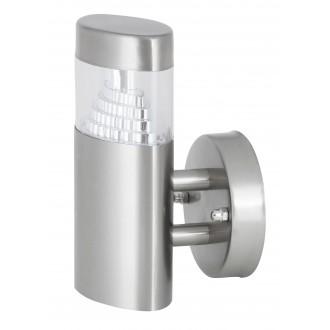 RABALUX 8142 | Detroit Rabalux falikar lámpa 1x LED 450lm 4000K IP44 UV nemesacél, rozsdamentes acél