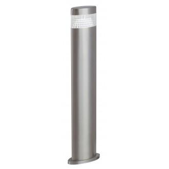 RABALUX 8143 | Detroit Rabalux álló lámpa 50cm 1x LED 450lm 4000K IP44 UV nemesacél, rozsdamentes acél