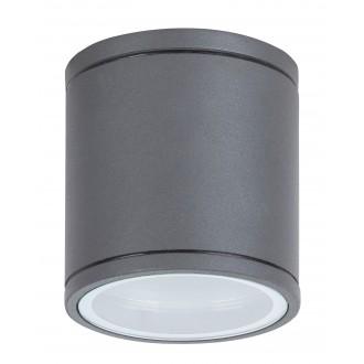 RABALUX 8150 | Akron Rabalux fali, mennyezeti lámpa kerek 1x GU10 IP54 UV antracit szürke