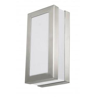 RABALUX 8170 | Stuttgart Rabalux fali, mennyezeti lámpa 1x E27 IP44 UV nemesacél, rozsdamentes acél, fehér