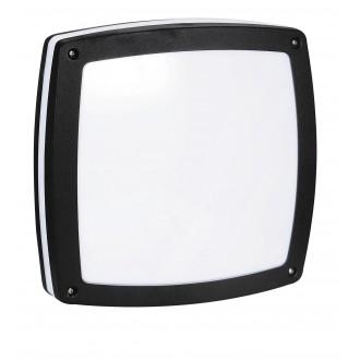 RABALUX 8187 | Saba Rabalux fali, mennyezeti lámpa 2x E27 IP54 UV fekete, fehér