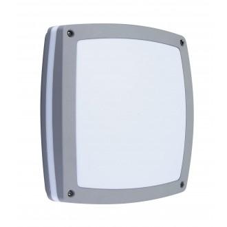 RABALUX 8188 | Saba Rabalux fali, mennyezeti lámpa 2x E27 IP54 UV ezüst, fehér