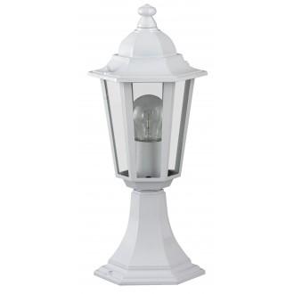 RABALUX 8205 | Velence1 Rabalux álló lámpa 40cm 1x E27 IP43 fehér, átlátszó