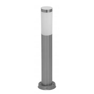 RABALUX 8263 | Inox Rabalux álló lámpa 45cm 1x E27 IP44 UV nemesacél, rozsdamentes acél, fehér