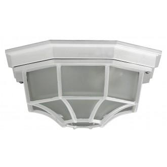 RABALUX 8336 | Milano1 Rabalux mennyezeti lámpa 1x E27 IP43 fehér, opál