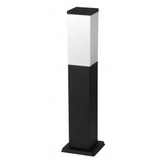 RABALUX 8338 | Bonn Rabalux álló lámpa 50cm 1x E27 IP44 UV matt fekete, fehér