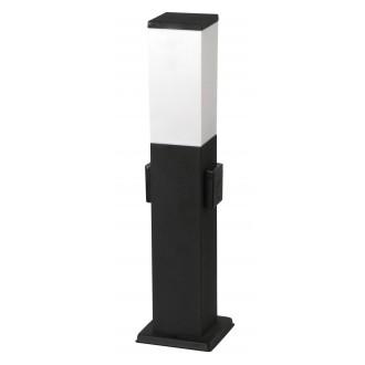 RABALUX 8339 | Bonn Rabalux álló lámpa 50cm dugaljjal ellátott 1x E27 IP44 UV matt fekete, fehér
