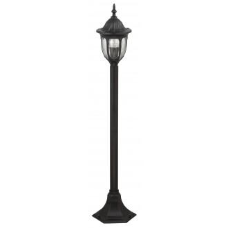 RABALUX 8345 | Milano1 Rabalux álló lámpa 102cm 1x E27 IP43 fekete, átlátszó