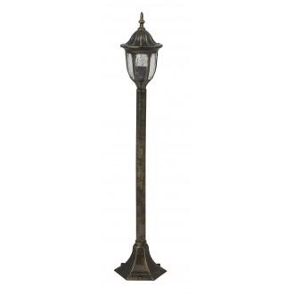 RABALUX 8375 | Milano Rabalux álló lámpa 102cm 1x E27 IP43 antikolt arany, átlátszó
