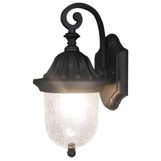 RABALUX 8387   Sydney Rabalux falikar lámpa 1x E27 IP23 fekete, áttetsző
