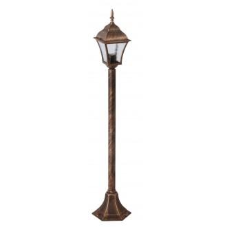 RABALUX 8395 | Toscana Rabalux álló lámpa 106cm 1x E27 IP43 antikolt arany, áttetsző