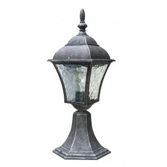 RABALUX 8398 | Toscana Rabalux álló lámpa 41,5cm 1x E27 IP43 antikolt ezüst, áttetsző