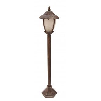 RABALUX 8480 | Madrid Rabalux álló lámpa 105cm 1x E27 IP43 antikolt arany, fehér alabástrom