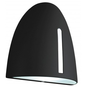 RABALUX 8519 | Glasgow Rabalux fali lámpa 1x E27 IP44 fekete