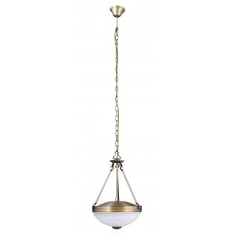 RABALUX 8547 | Marlene Rabalux függeszték lámpa 2x E27 bronz, fehér alabástrom