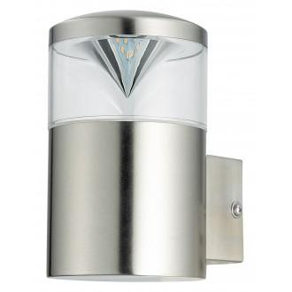 RABALUX 8559 | CharlotteR Rabalux falikar lámpa 1x GU10 340lm 3000K IP44 UV nemesacél, rozsdamentes acél