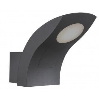 RABALUX 8566 | Melbourne Rabalux falikar lámpa 1x LED 480lm 3000K IP54 sötét szürke