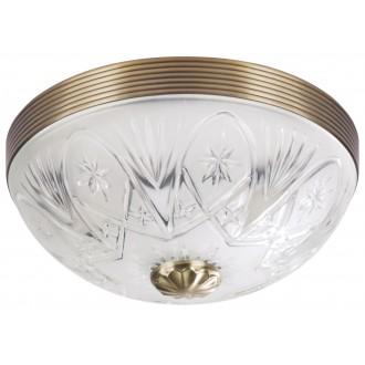 RABALUX 8638 | Annabella Rabalux mennyezeti lámpa 2x E27 bronz, átlátszó