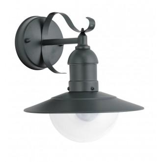 RABALUX 8682 | OsloR Rabalux falikar lámpa UV álló műanyag 1x E27 IP44 UV zöld, átlátszó