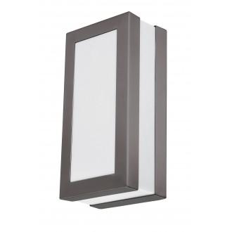 RABALUX 8683 | Stuttgart Rabalux fali, mennyezeti lámpa 1x E27 IP44 UV antracit, fehér