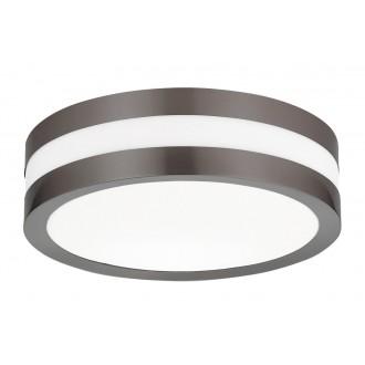 RABALUX 8684 | Stuttgart Rabalux mennyezeti lámpa 2x E27 IP44 UV antracit, fehér