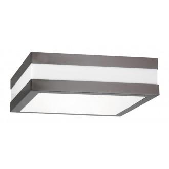 RABALUX 8685 | Stuttgart Rabalux mennyezeti lámpa 2x E27 IP44 UV antracit, fehér