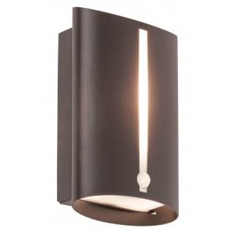 RABALUX 8731 | Baltimore Rabalux fali lámpa mozgásérzékelő 1x E27 IP44 matt fekete