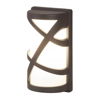 RABALUX 8767 | Durango Rabalux fali lámpa 1x E27 IP54 UV antracit, fehér