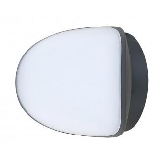 RABALUX 8768 | Erfurt Rabalux fali lámpa 1x LED 1100lm 4000K IP54 UV antracit, fehér