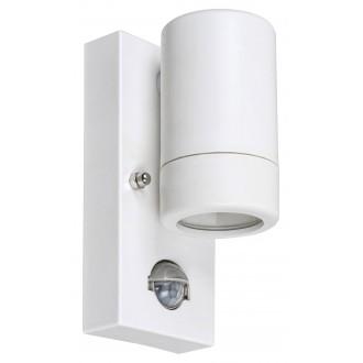 RABALUX 8838 | Medina-RA Rabalux falikar lámpa mozgásérzékelő 1x GU10 IP44 UV matt fehér