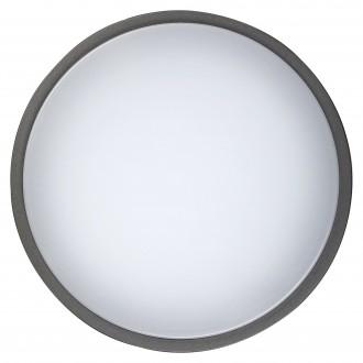 RABALUX 8848 | Hamburg_RA Rabalux fali, mennyezeti lámpa 1x LED 900lm 4000K IP44 UV antracit, fehér