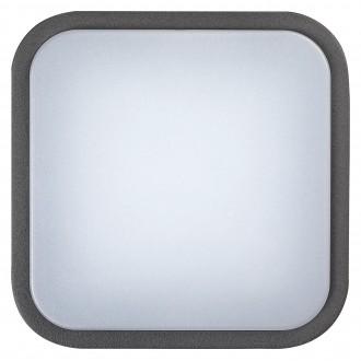 RABALUX 8850 | Hamburg_RA Rabalux fali, mennyezeti lámpa 1x LED 900lm 4000K IP44 UV antracit, fehér