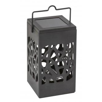 RABALUX 8948 | Mora-RA Rabalux dekor lámpa napelemes/szolár 1x LED 1,2lm 3000K IP23 fekete