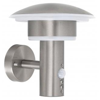 RABALUX 8977 | Denmark-RA Rabalux falikar lámpa mozgásérzékelő 1x LED 1000lm 4000K IP44 UV nemesacél, rozsdamentes acél