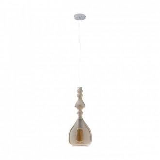 REDO 01-1082 | Ambix Redo függeszték lámpa 1x E27 pezsgő, króm