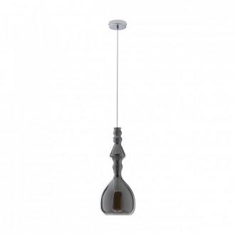 REDO 01-1083 | Ambix Redo függeszték lámpa 1x E27 füst, króm