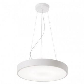 REDO 01-1129 | Zoom-RD Redo függeszték lámpa 1x LED 3336lm 3000K matt fehér, matt opál