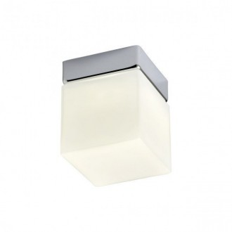 REDO 01-1133 | Drip Redo fali, mennyezeti lámpa 1x LED 450lm 3000K IP44 króm, opál
