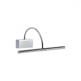 REDO 01-1135 | Kendo-RD Redo falikar lámpa elforgatható alkatrészek 1x LED 495lm 3000K króm, szatén nikkel