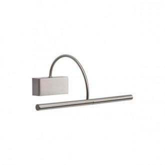 REDO 01-1136 | Kendo-RD Redo falikar lámpa elforgatható alkatrészek 1x LED 495lm 3000K króm, szatén nikkel