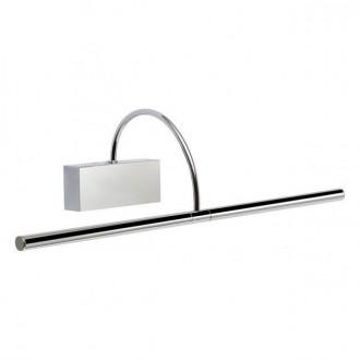 REDO 01-1137 | Kendo-RD Redo falikar lámpa elforgatható alkatrészek 1x LED 1086lm 3000K IP21 króm, szatén nikkel