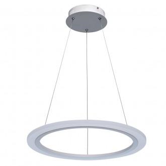 REGENBOGEN 661014601 | Plattling Regenbogen függeszték lámpa 1x LED 5400lm 3000K fehér, opál