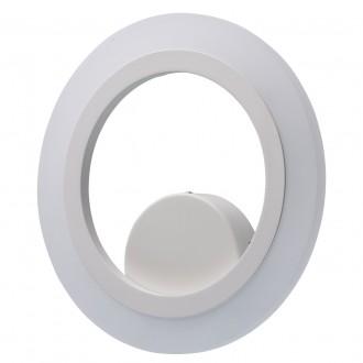 REGENBOGEN 661024401 | Plattling Regenbogen fali lámpa kerek 1x LED 1350lm 4000K fehér, opál