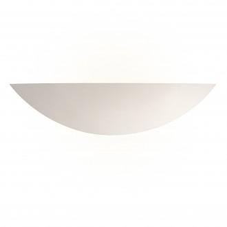 SEARCHLIGHT 102 | GypsumS Searchlight fali lámpa festhető felület 1x E27 fehér
