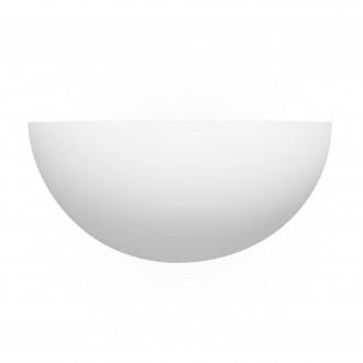 SEARCHLIGHT 106 | GypsumS Searchlight fali lámpa festhető felület 1x E27 fehér