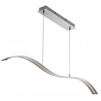 SEARCHLIGHT 2076SS | Bar-Lights Searchlight függeszték lámpa 1x LED 800lm 3000K szatén ezüst, szatén nikkel