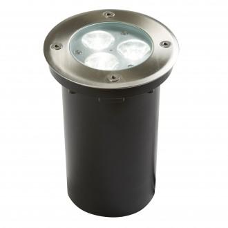 SEARCHLIGHT 2505WH | Walkover Searchlight beépíthető lámpa Ø110mm 3x LED 240lm 6000K IP67 króm, átlátszó